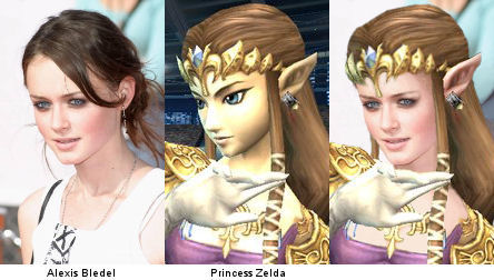 Alexis Bledel is Princess Zelda