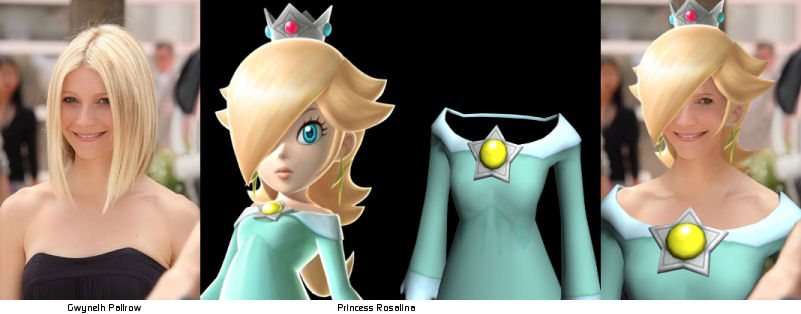 Gwyneth Paltrow is Princess Rosalina