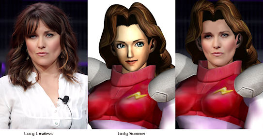 Lucy Lawless is Jody Summer