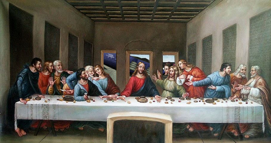 The original Last Supper by Leonardo Da Vinci