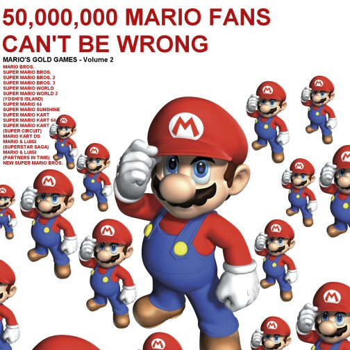 50,000,000 Mario fans can't be wrong