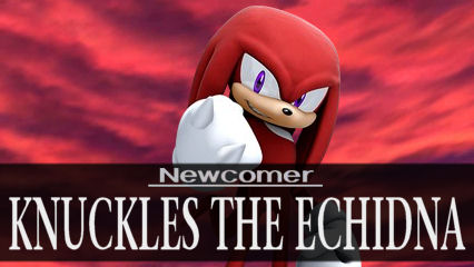 Newcomer: Knuckles the Echidna