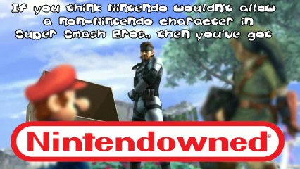 Snake in SSBB - Nintendowned