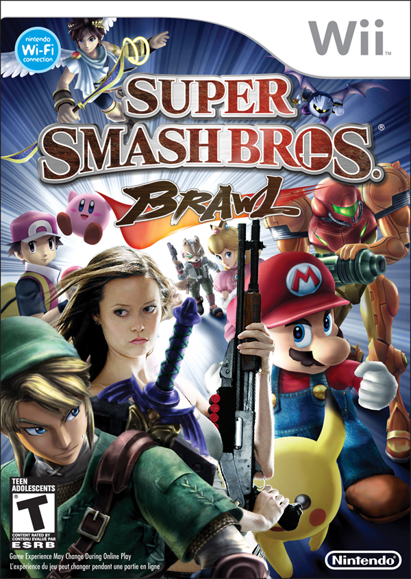 Super Smash Bros. Brawl (box art)